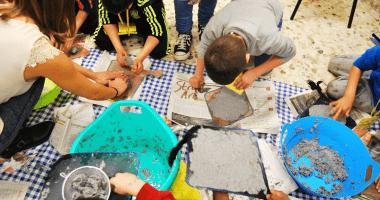 proyectos ecologicos caseros - papel casero