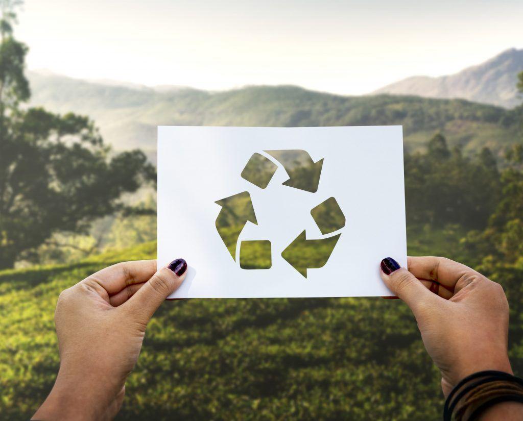 simbolo del reciclaje - dia mundial del reciclaje