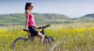 actividades sostenibles - montar en bici