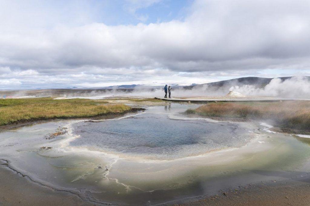 lugares fascinantes: aguas termales de Hveravellir