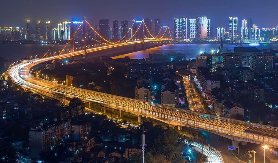 Wuhan China megaciudad