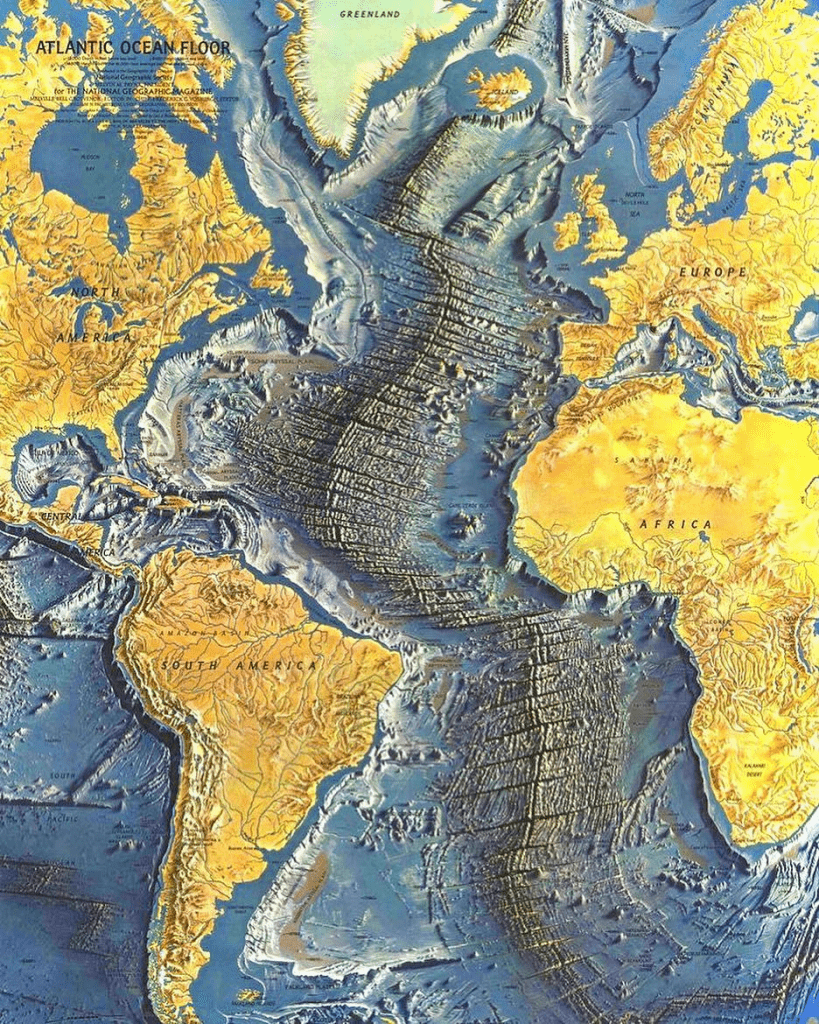 curiosidades del mundo natural - cordillera bajo el agua