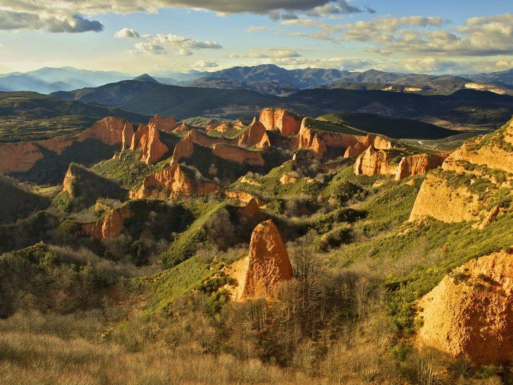 Paisajes bonitos de España: Las Médulas (León)