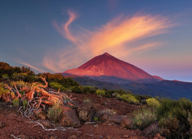 Imágenes de paisajes increíbles de España: Teide (Tenerife)