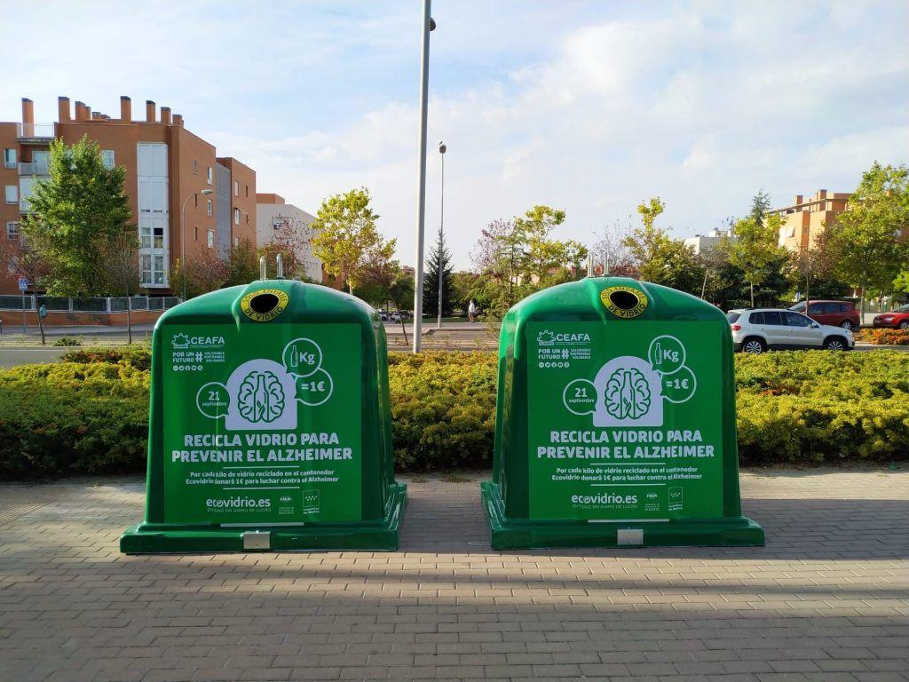 campaña contra el alzheimer Ecovidrio
