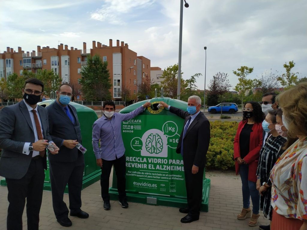 Campañas contra el Alzheimer - reciclaje de vidrio