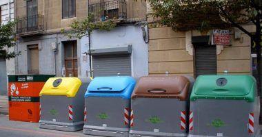 contenedor marron en España