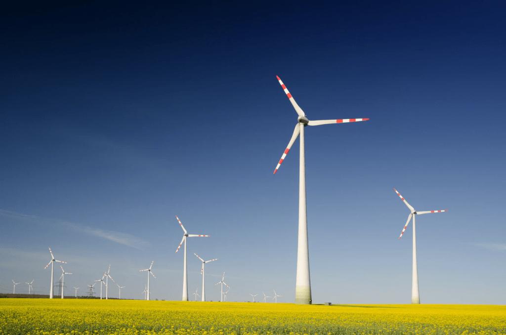 energía eolica de aerogeneradores es energia limpia, no contamina