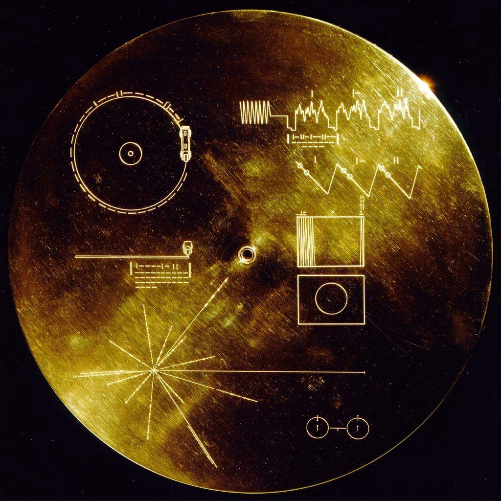 vida en la tierra sin humanos - disco de oro de la Voyager