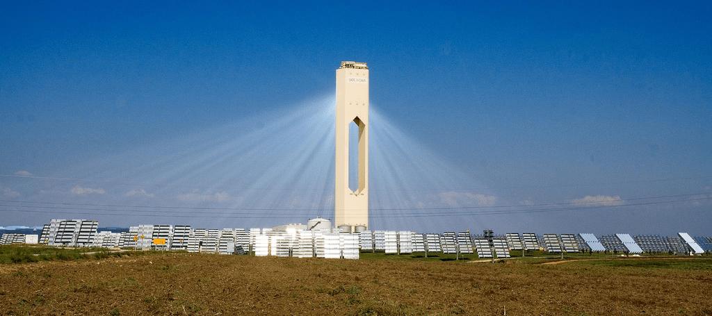 planta solar termoeléctrica por tecnología de torre (Solúcar PS10)