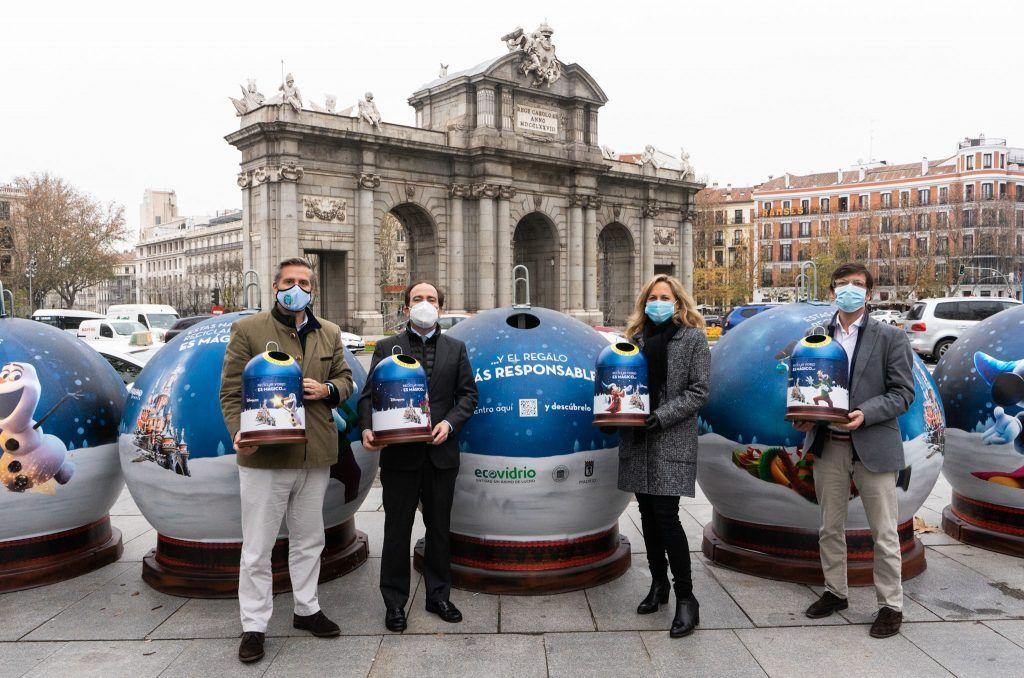 Presentación en Madrid de la campaña de Navidad junto con Disneyland París