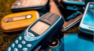 obsolescencia programada: móviles en desuso