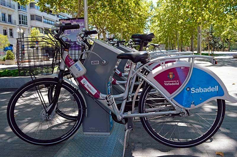 Imagen de aparcamiento de bicicletas de VallaBici