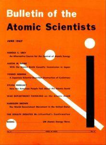 portada del boletín de los científicos atómicos