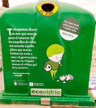 contenedores reciclaje Sant Jordi