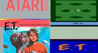 el peor videojuego de la historia ET el extraterrestre