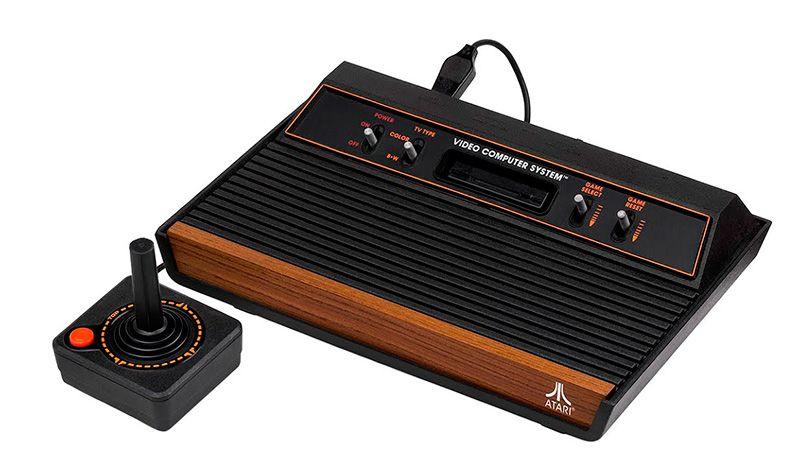 video consola Atari años 80