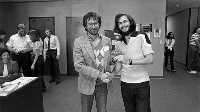 foto de Steven Spielberg y Warshaw
