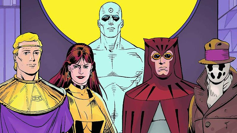 portada de comic Watchmen sobre el doomsday