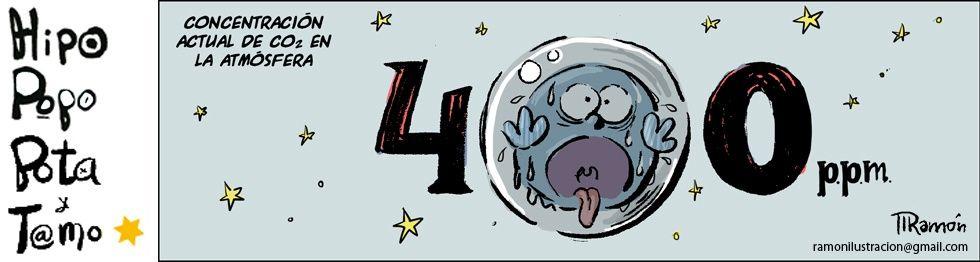 ilustración de Ramón sobre el cambio climático publicada en El País