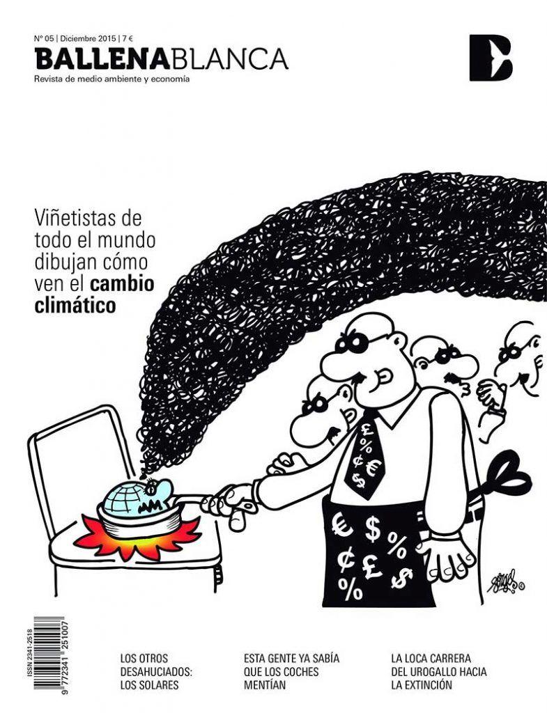 viñeta de Forges publicada en Ballena Blanca