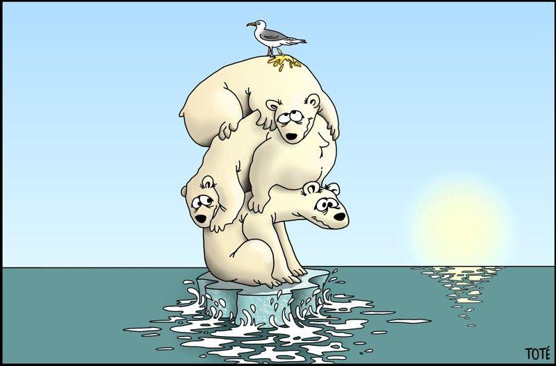 Viñetas contra el cambio climático de Tote contra el cambio climático