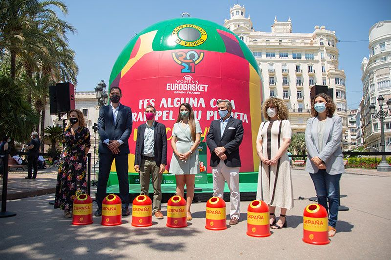 mini uglu seleccion española baloncesto Eurobasket Valencia