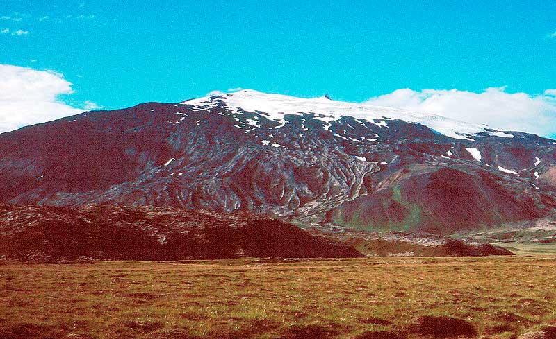 volcan Snaefellsjökull en Islandia