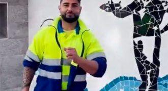Cristóbal el influencer malagueño sobre limpieza y medio ambiente