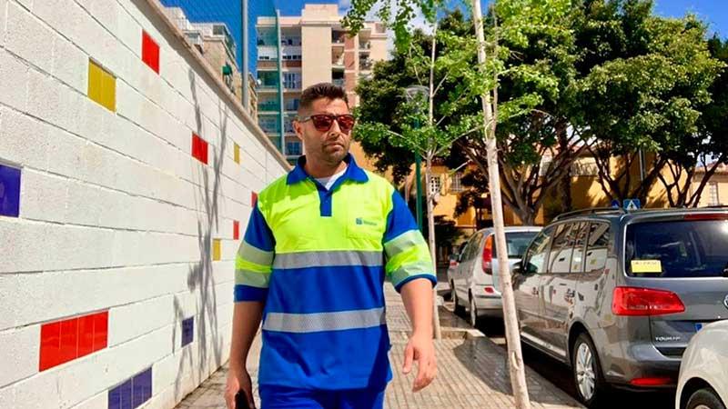 Cristóbal Muriano influencer de limpieza de Limasa