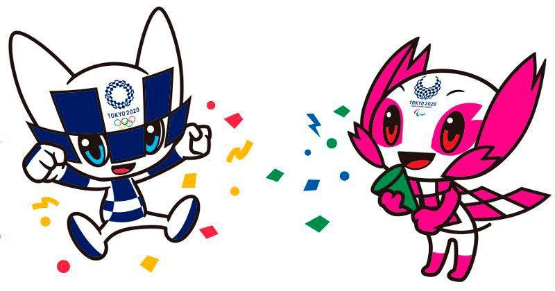 Miraitowa y Someity las mascotas de los Juegos Olímpicos Tokio 2020