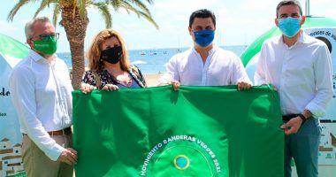 Bandera Verde Ecovidrio en municipios de costa