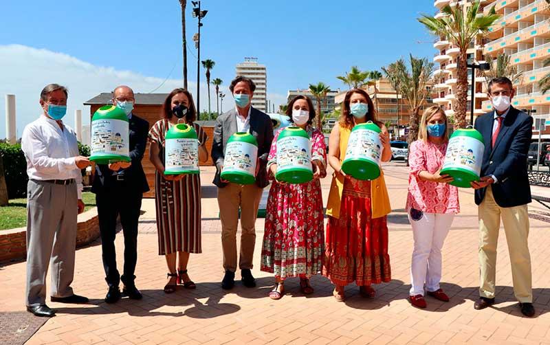 representantes bandera Verde Ecovidrio
