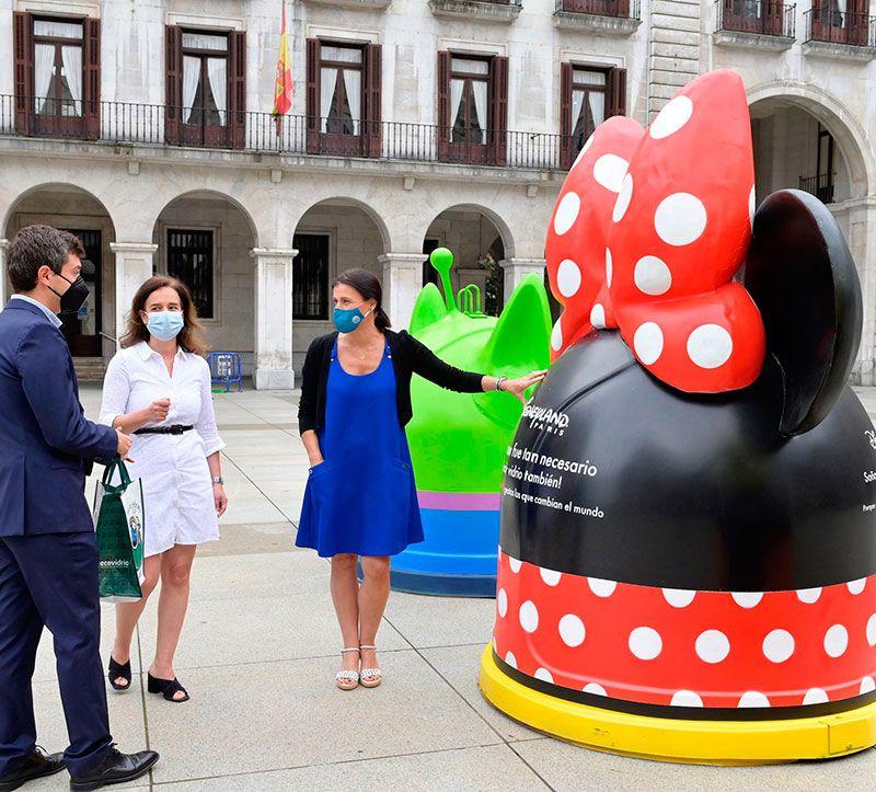 Presentación Ecovidrio y Disney Santander