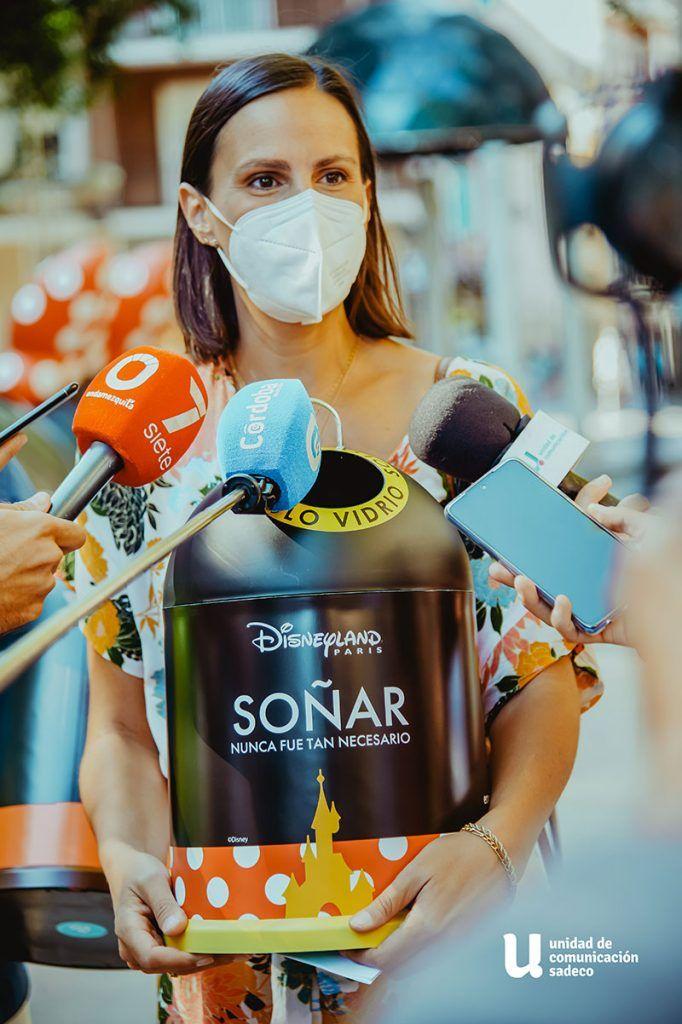presentacion campaña Ecovidrio y Disney en Cordoba