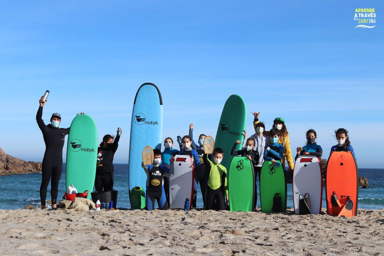 surf and clean asociación en La Pedrosa