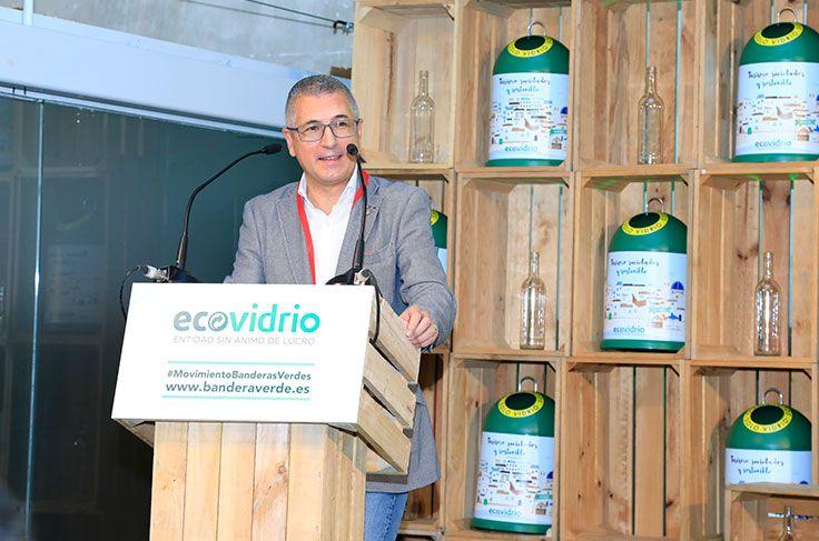 Hugo Morán, secretario de Estado de Medio Ambiente entrega los galardones de Bandera Verde Ecovidrio